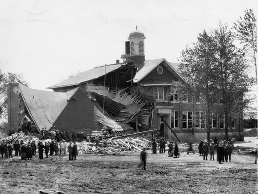 The Bath School bombing took place on May 18, 1927.