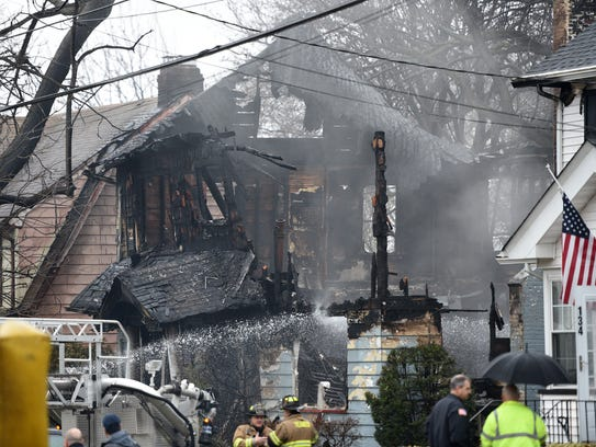 Investigators recovered one body Sunday, following an early-morning fire that destroyed a Sherman Avenue home in Teaneck.