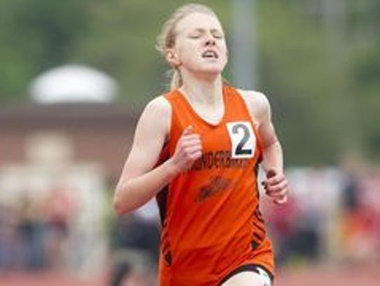 Junior Erika Kisting will compete in the 1,600 and