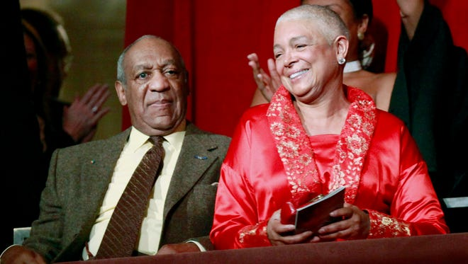 Bill and Camille Cosby at the Kennedy Center when he received the Mark Twain Prize for American Humor in 2009.