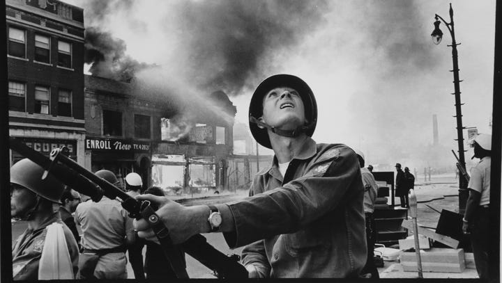 Look back at 1967 Detroit riot in an hour-by-hour time line, annotated