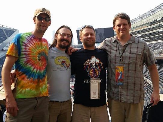 From left, John Modene, Vince Bahorik, John Tressler