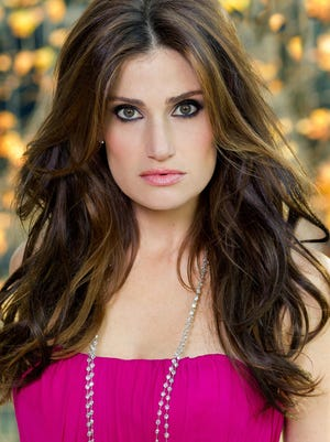 Idina Menzel will perform Aug. 23 at Old National Centre.