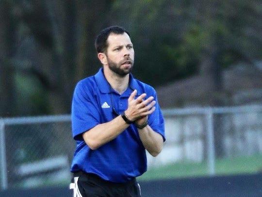 Jon McClure has stepped down as the girls soccer coach