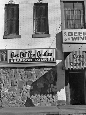 Cave of the Candles, East Lansing, mid-1970s.