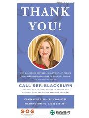Blackburn ad
