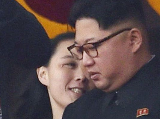 Kim Jong Un,Kim Yo Jong