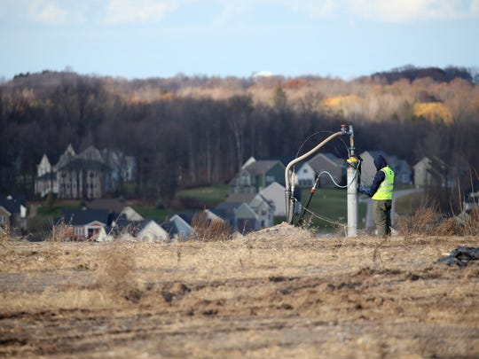Gas wells are monitored at High Acres to ensure wells