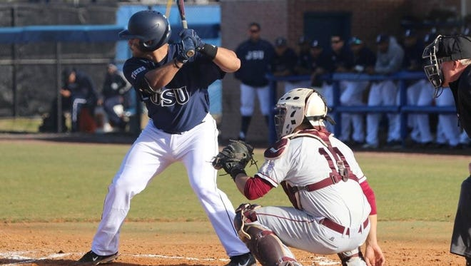 Jackson State's Melvin Rodriguez hit more than .400 this season, and was drafted in the 18th round by the Washington Nationals on Wednesday.