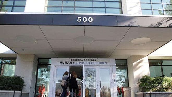 Oregon Department of Human Services building.
