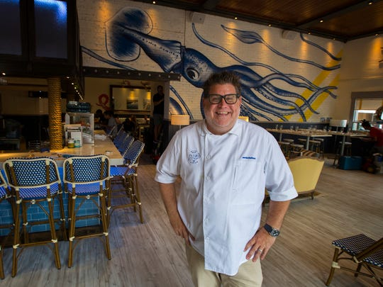 Chef Jamie DeRosa opened Izzy's Fish & Oyster June 7 in downtown Fort Myers.