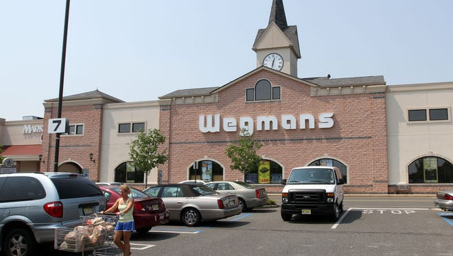 Exterior of the Wegmans on Route 35 in Ocean Township is seen in this 2011 file photo.