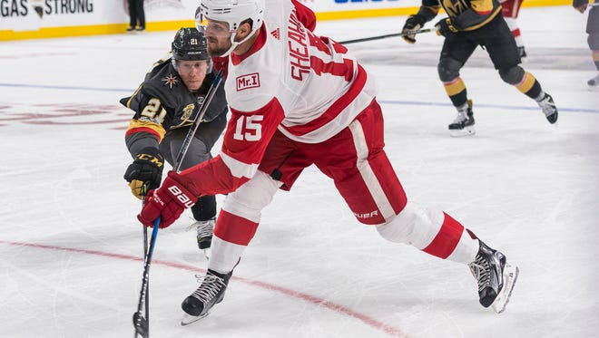 Former Wings forward scored just two goals last season and had yet to score this season when he was traded to Pittsburgh on Saturday.