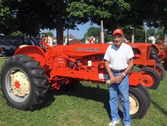 Allis Chalmers & Bob Reed by Mindy Brems