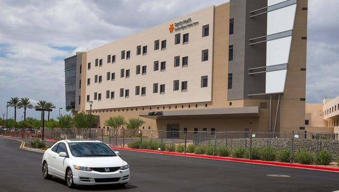 Dignity Health Chandler Regional Medical Center's new five-story, 96-bed tower opened Aug. 26 and raises the hospital's total bed count to 339.