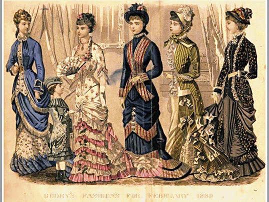 """Open Drawers, Fashion Plates, and Late Night Dates: High Fashion from the Wheaton-Smith Collection"" opens with a Victorian dress-up reception and tea from 1 to 3 p.m. Saturday at the Silver City Museum."