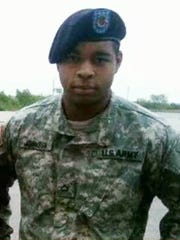 This undated file photo shows Micah Johnson, who killed