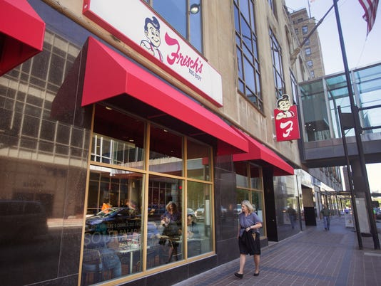 Frisch's Big Boy opens in Carew Tower. It's been 14 years since Frisch's has been in downtown.