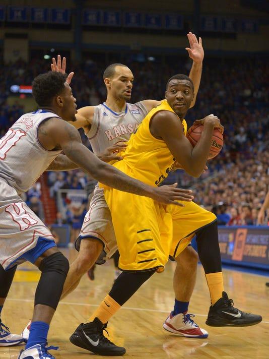 NCAA Basketball: Kent State at Kansas