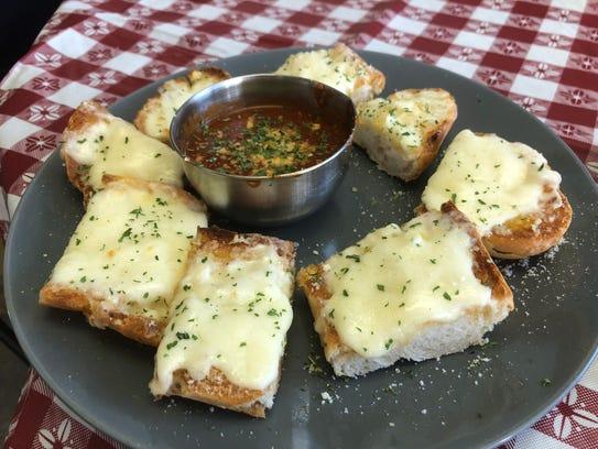 Fresco Italian Kitchen's made-to-order garlic bread