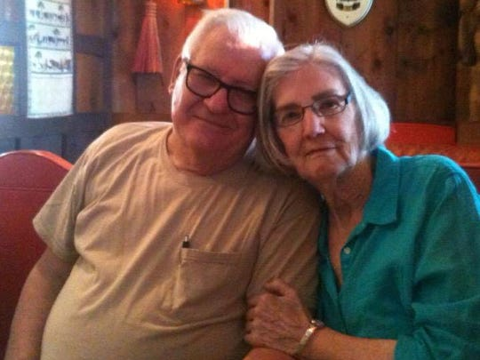 The author's in-laws, Frank White and Mary Freitag.