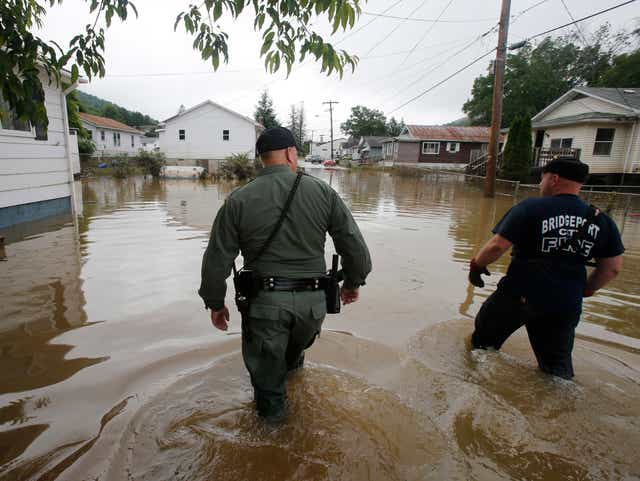 A Week After Historic Floods West Virginia Faces New Reality
