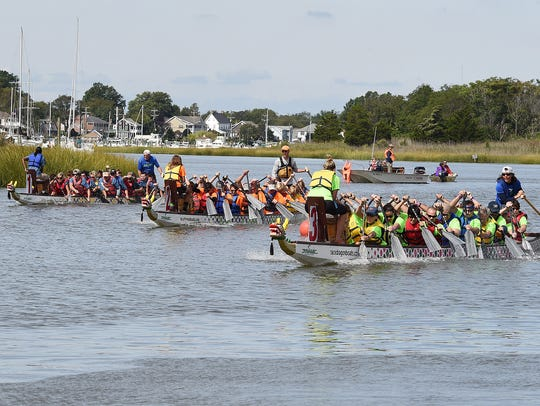 After  five years, the organizers of the Dragon Boat Festival have decided to permanently end the annual festival in Lewes.