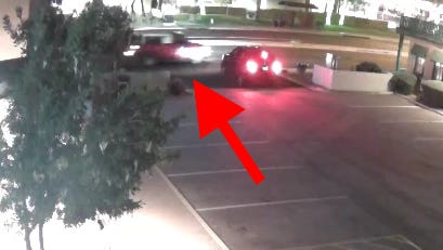 Anyone with information on this vehicle, which is believed to have been in the area of 72nd Place and Shea Boulevard at about 10:50 p.m. on Nov. 29, is urged to contact the Scottsdale Police Department.