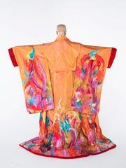 "Kimono from Opera Naples new production of ""Madama Butterfly."""