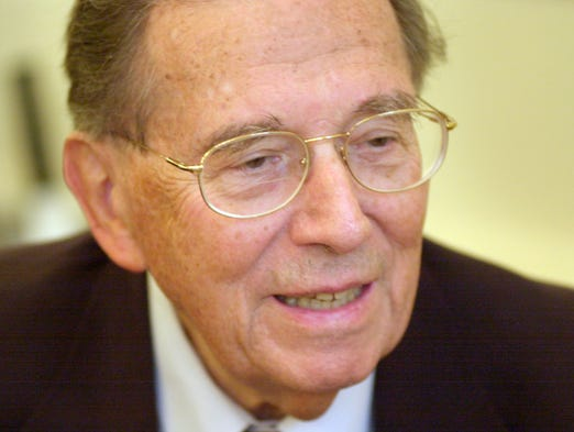 Beurt R. SerVaas, who led the City-County Council in Indianapolis for more than 20 years, is dead at age 94. SerVaas retired from the City-County Council in 2002 after serving40 years on the council and 27 years as the council's president.