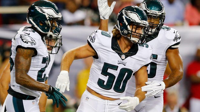 Linebacker Kiko Alonso will face his former team when the Eagles face the Buffalo Bills this Sunday.