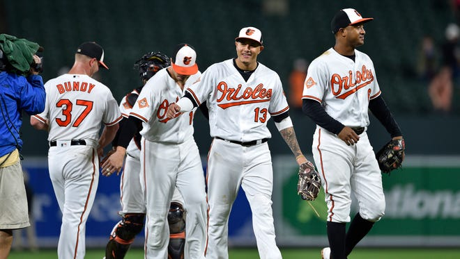 Thanks to a six-game winning streak, the Orioles and third baseman Manny Machado are feeling good about their playoff chances.