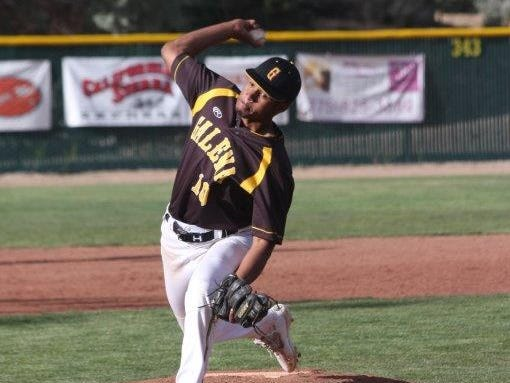 Galena pitcher Jared Kiessling struck out eight in seven innings to get the win Thursday at McQueen.