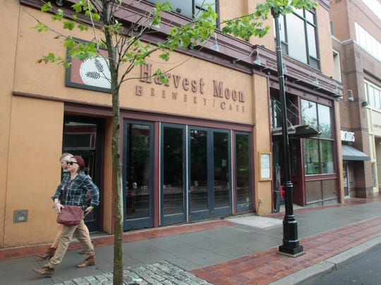 Harvest Moon Brewery and Cafe has been in downtown