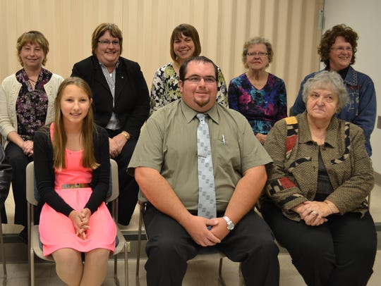 The 2014-15 4-H Leader's Association executive board