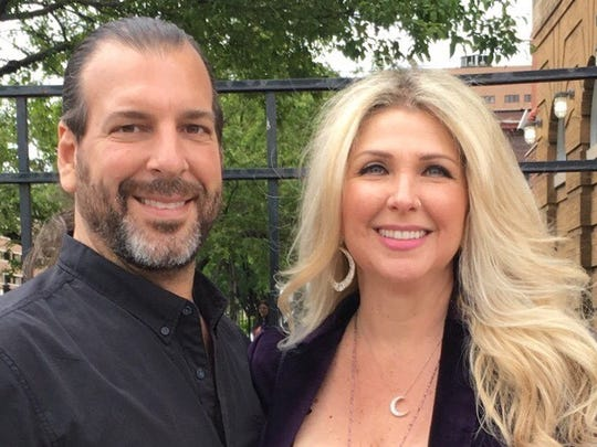 Pete Lacombe, pictured here with his wife, Shellee, plans to open Chili Mustard Onions, an all-vegan restaurant this fall on 3411 Brush Street in Detroit.