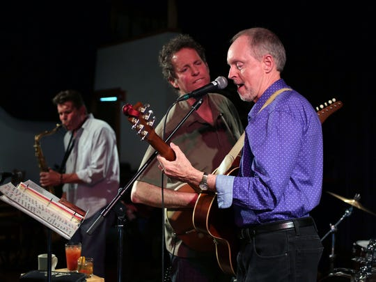 Big Joe Fitz and the Lo Fi's perform for the brunch