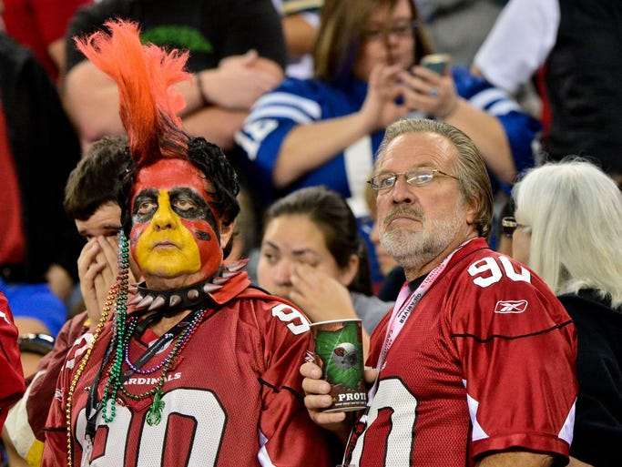 USA TODAY Sports' Will Leitch (sportsonearth.com) ranks the 32 fan bases in the NFL from most to least spoiled. Arizona Cardinals fans have endured a lot through the years. Where are they on this list? (Editor's note: This was originally published on Feb. 4, 2014).