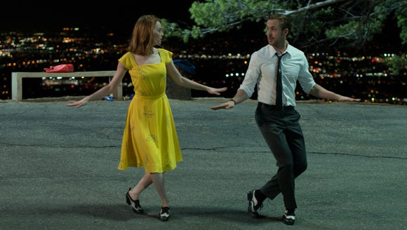 Emma Stone, here with co-star Ryan Gosling, had a lithe