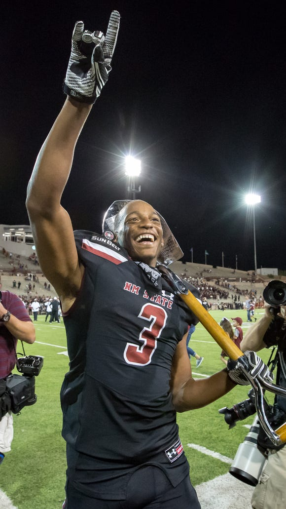 Can New Mexico State get Larry Rose III and the ground