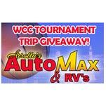 Arrotta's Automax & RV's WCC Tournament Trip Giveaway!