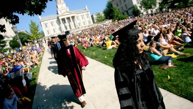 University of Iowa graduation