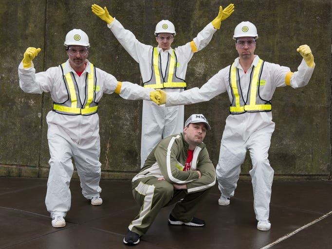 York's Beastie Boys tribute band Brass Monkeys shows