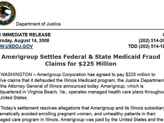 Medicaid tear sheet #2