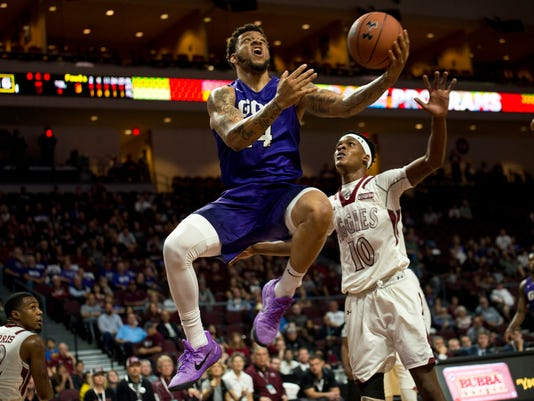 NCAA Basketball: WAC Basketball Championship-Grand Canyon vs New Mexico State Aggies