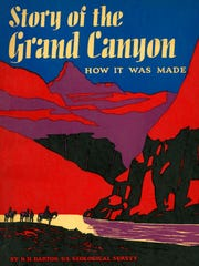 This booklet, Story of the Grand Canyon, with its cover