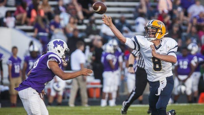 Delta quarterback Cade Jones is coming back this season after a broken leg in 2013.