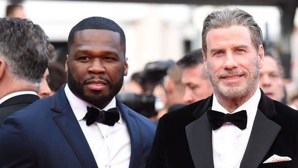 "50 Cent, John Travolta attend the premiere of ""Solo:"