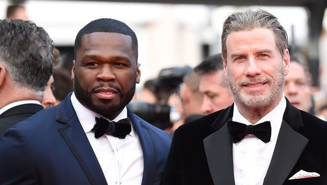 "50 Cent, John Travolta attend the premiere of ""Solo: A Star Wars Story"" in Cannes."