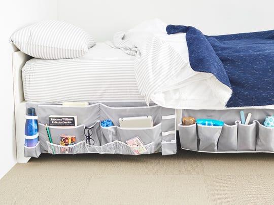 Footboard Bedside Organizer Caddy